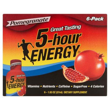 5-hour ENERGY Grenade Compléments alimentaires, 6pk