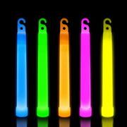 """Lumistick 6"""" Premium Glow Sticks, Assorted Colors, 25 ct"""