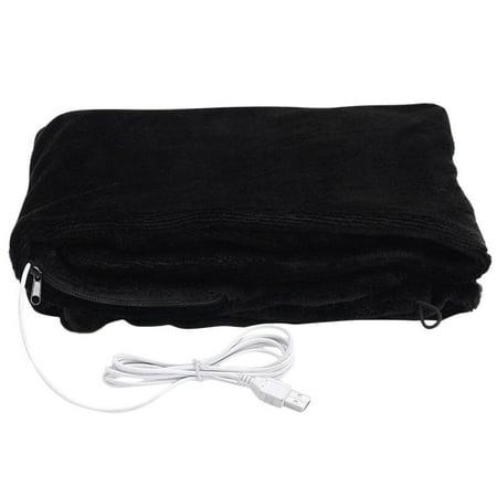 Iuhan USB Soft Heated Shawl Winter Electric Warming Neck Shoulder Heating Blanket