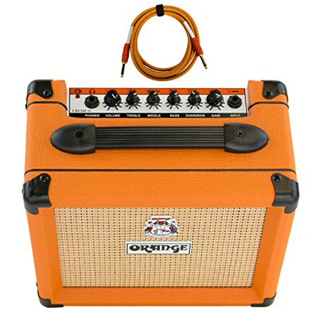 orange crush 12 amp 12w small guitar combo amplifier free cable bundle. Black Bedroom Furniture Sets. Home Design Ideas