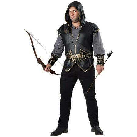 Hooded Huntsman Plus Costume