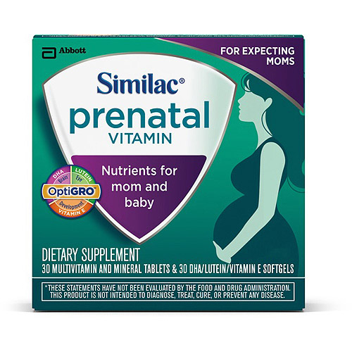 Similac Prenatal Vitamins, 30-Day Supply
