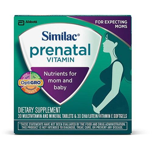 Similac Prenatal Vitamins, 30-Day Supply
