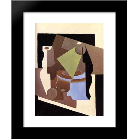 Still Life with Lamp 20x24 Framed Art Print by Juan Gris