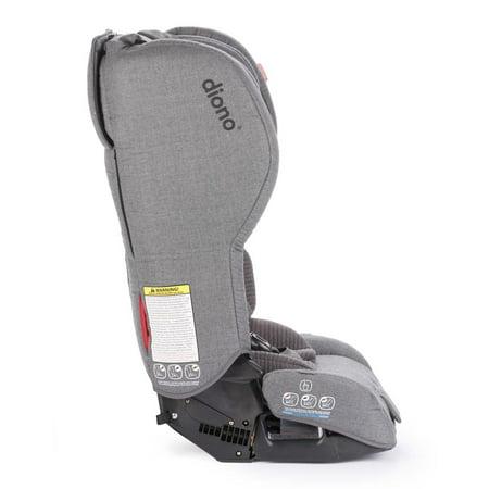 Diono Rainier 2AXT Convertible Car Seat - Grey Dark Wool - image 8 de 9