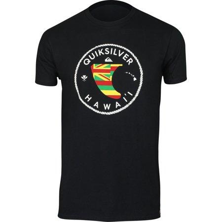 Quiksilver Mens HI Fin Hawaii T-Shirt - Black