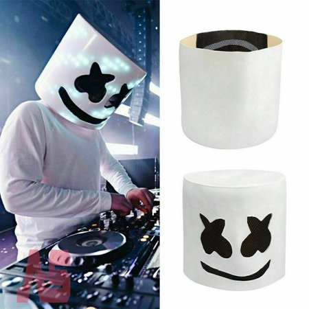 Marshmallow Headgear Mask for Bar Party Wear Non-luminance - Mask At Party City