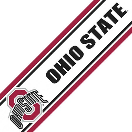 Ohio state peel and stick wallpaper border for Peel and stick wallpaper walmart