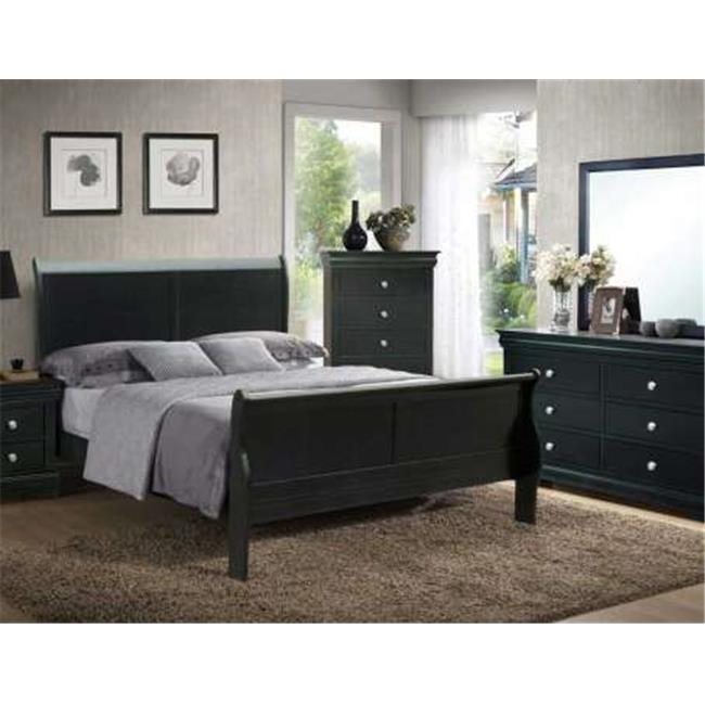 Steve Silver RE596SS-120B Midtown Bed Headboard - Queen
