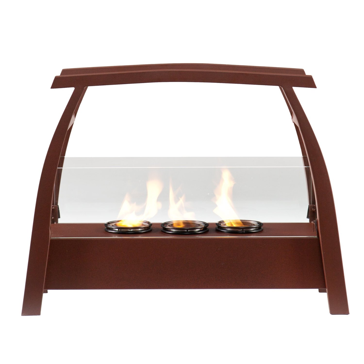 bronze finished kanto portable indoor outdoor fuel gel fireplace walmartcom - Gel Fuel Fireplace