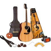 Mitchell D120PK Acoustic Guitar Value Package Natural