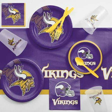 Minnesota Vikings Party Supplies (Minnesota Vikings Game Day Party Supplies)