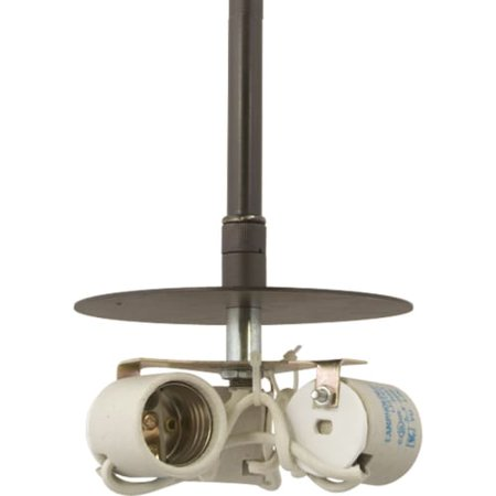 Progress Lighting P5199 Markor Three-Light Stem Mounted Pendant Kit, Shade Not I