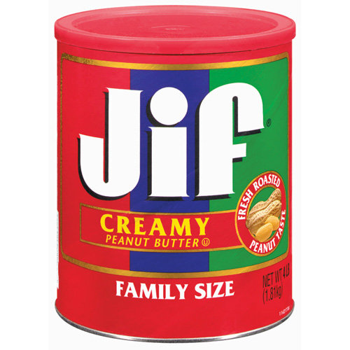 Jif Creamy Family Size Peanut Butter, 4 lb