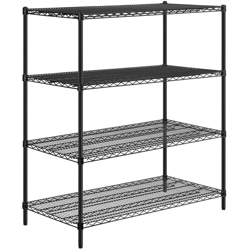 Honey-Can-Do 4-Tier Shelving, 800 lbs