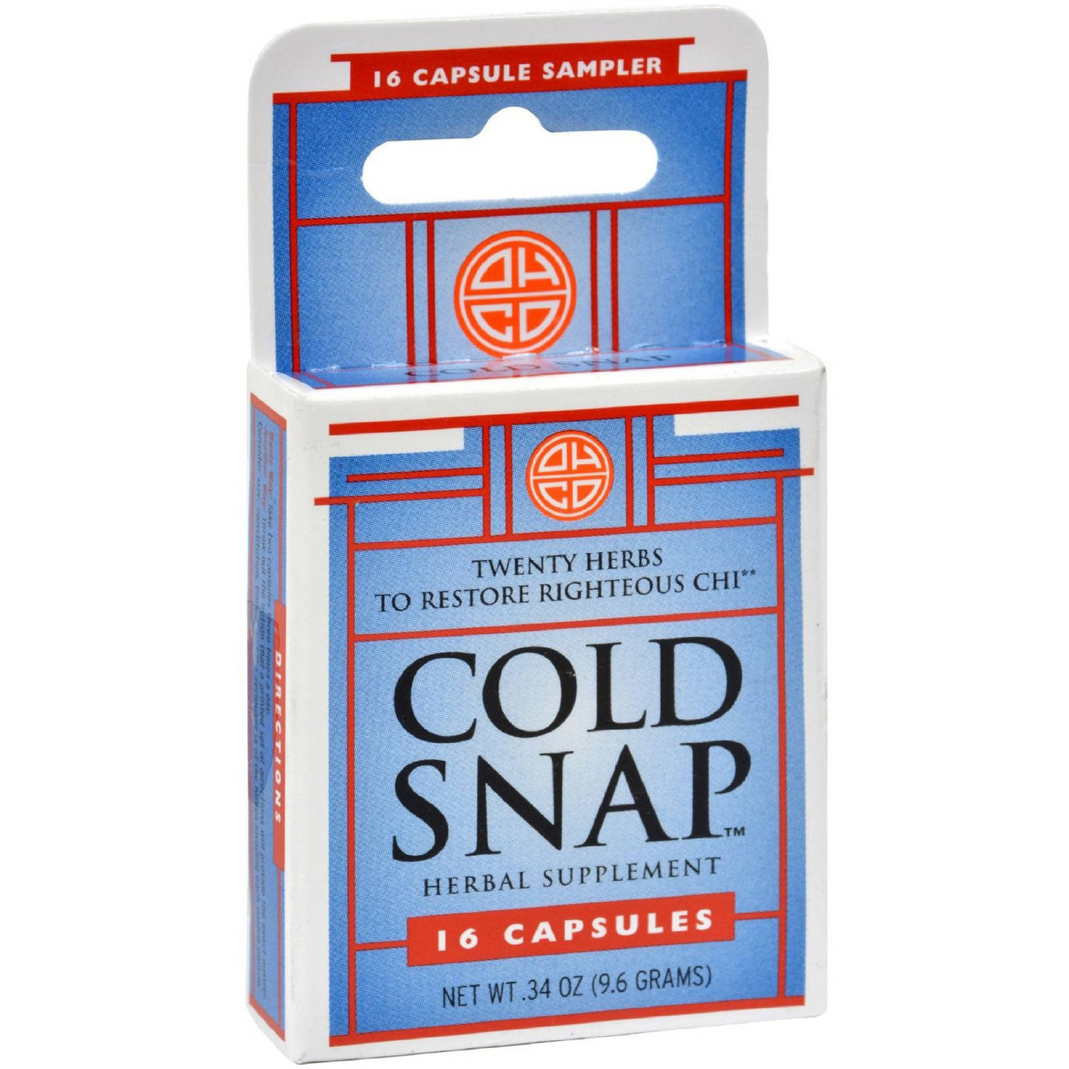 Ohco Cold Snap Capsules, 16 CT (Pack of 3)