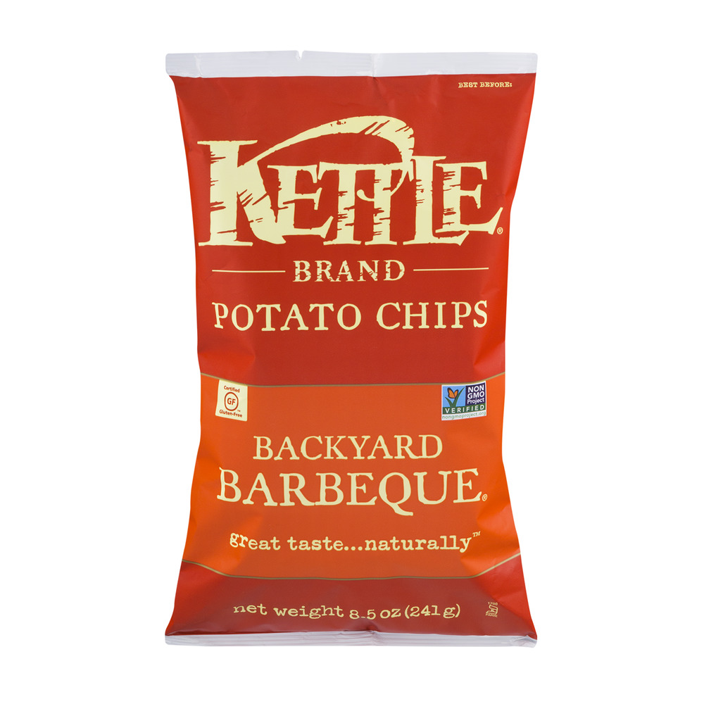 Kettle Brand Potato Chips Backyard Barbeque, 8.5 OZ by Kettle Foods, Inc.
