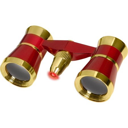 Barska 3x25 Blueline Opera Glasses with Red Program Reading Light