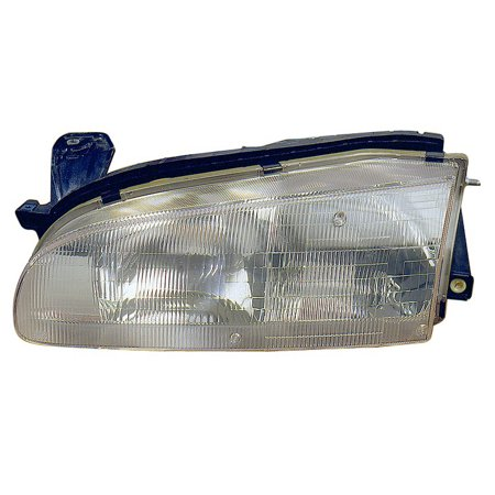 Geo Prizm Parking Light Drivers (Replacement TYC 20-3003-00 Driver Side Headlight For 93-97 Geo Prizm 94852390)