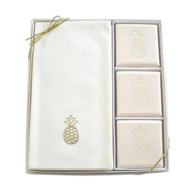 Carved Solutions Eco Luxury Courtesy Gift Set-G-Pineapple Soap