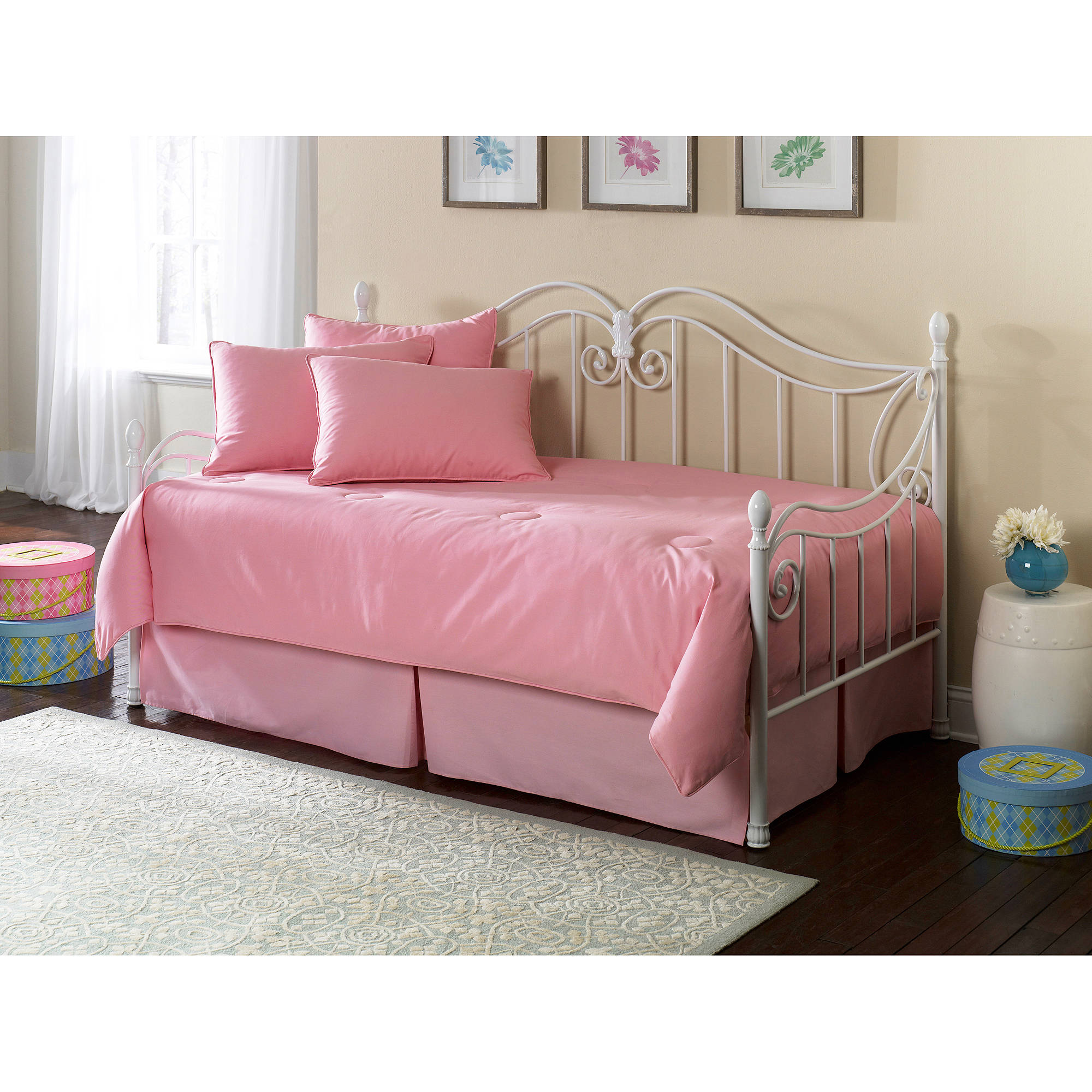 Southern Textiles Pink Daybed Ensemble, 5pc