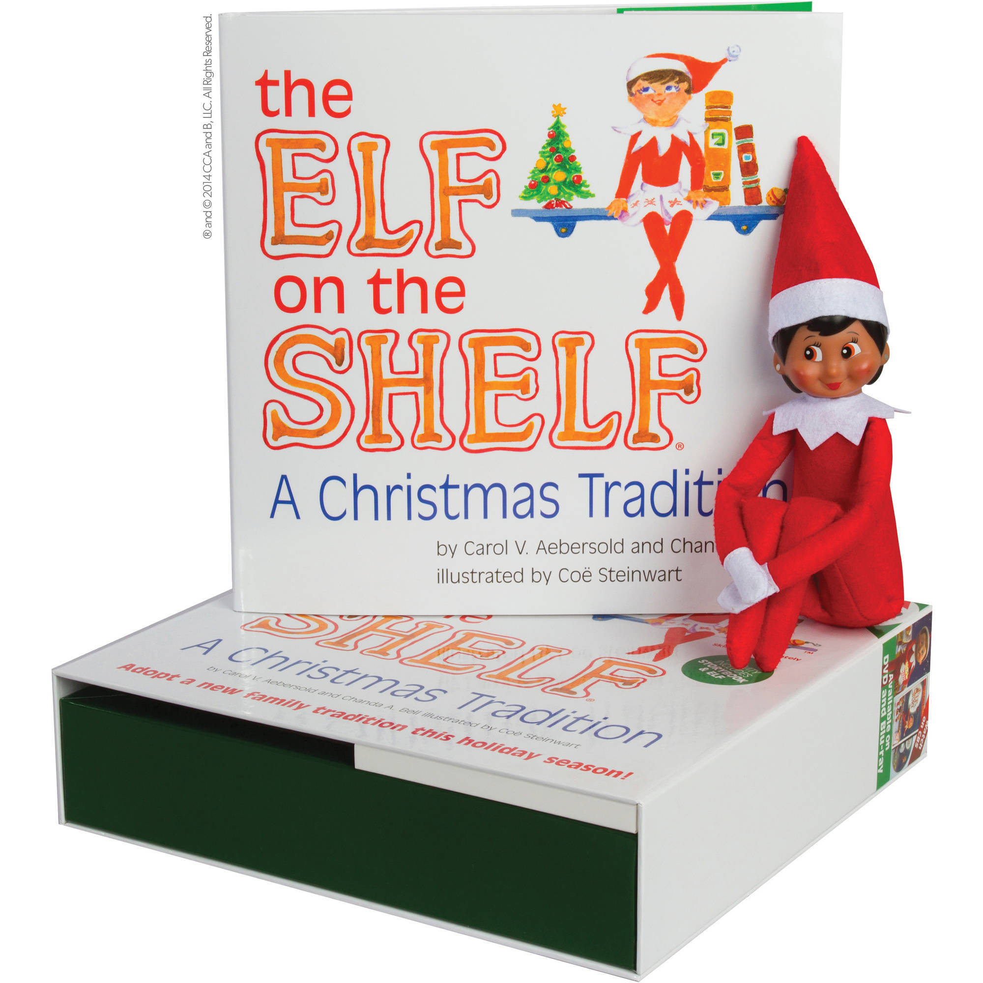 elf on the shelf girl light walmartcom - Elf On The Shelf Christmas Tradition