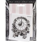 "Lablanche Silicone Stamp 3""x4""-floral Cl"
