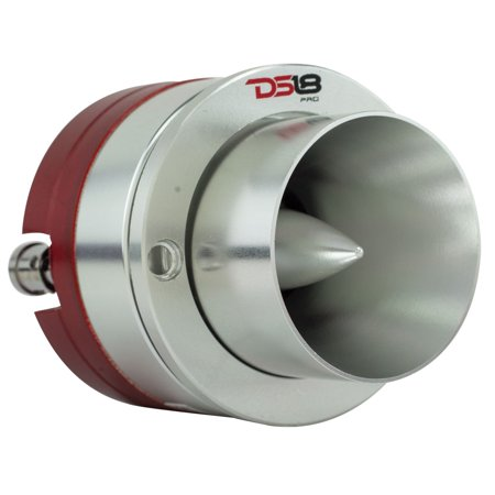 DS18 PRO-TW710 High Compression Titanium Super Bullet Tweeter 1-Inch 200W Max / 100W RMS with Built In Mylar Capacitor Filter - (1 - Mylar Tweeter