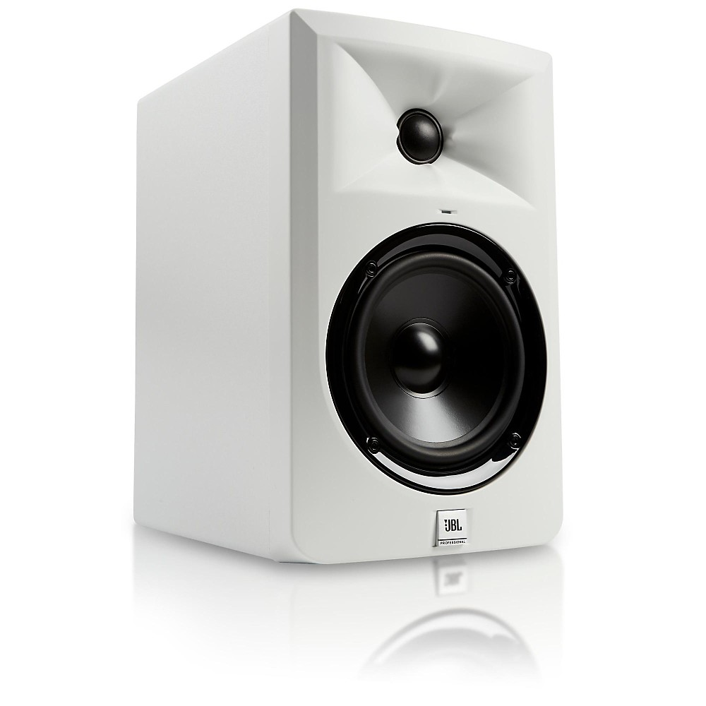 """JBL LSR305-WH 5"""" Powered Studio Monitor Limited Edition White by JBL"""