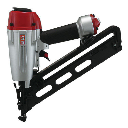 MAX NF665A 15 15-Gauge 2-1 2 in. SuperFinisher Angled Finish Nailer by