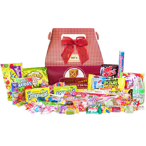 Candy Crate 1990's Retro Candy Gift Box, 2.5 lbs