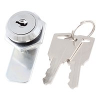 Hex Nut 17mm Male Thread Mounted Security Panel Lock for Mailbox Cabinet