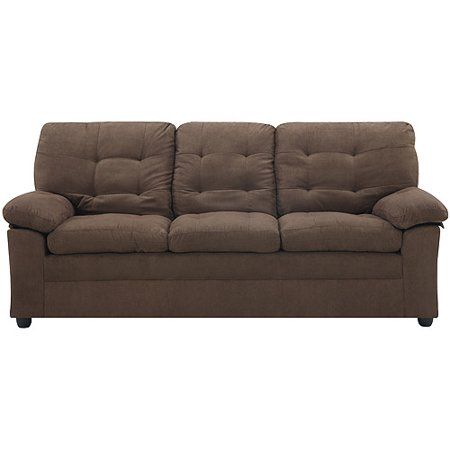 Buchannan Microfiber Sofa Brown Black Beige Gray Couch