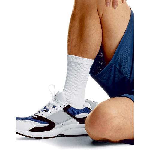 Hanes - Men's Cushion Crew Socks, 10 Pairs