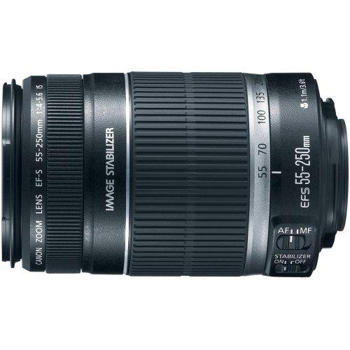 Canon 2044b002 Ef-s 55-250mm F/4-5.6 Is Image Stabilizer Telephoto Zoom Lens