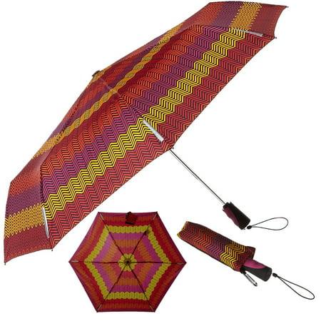 """Totes Umbrella: 43"""" Windproof Umbrella, Auto Open Close Umbrella with Scotch Guard For Men or Women"""