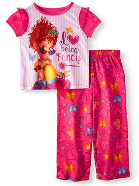 cd07b99113182 Product Image Short Sleeve Top & Pants, 2pc Pajama Set (Toddler Girls)