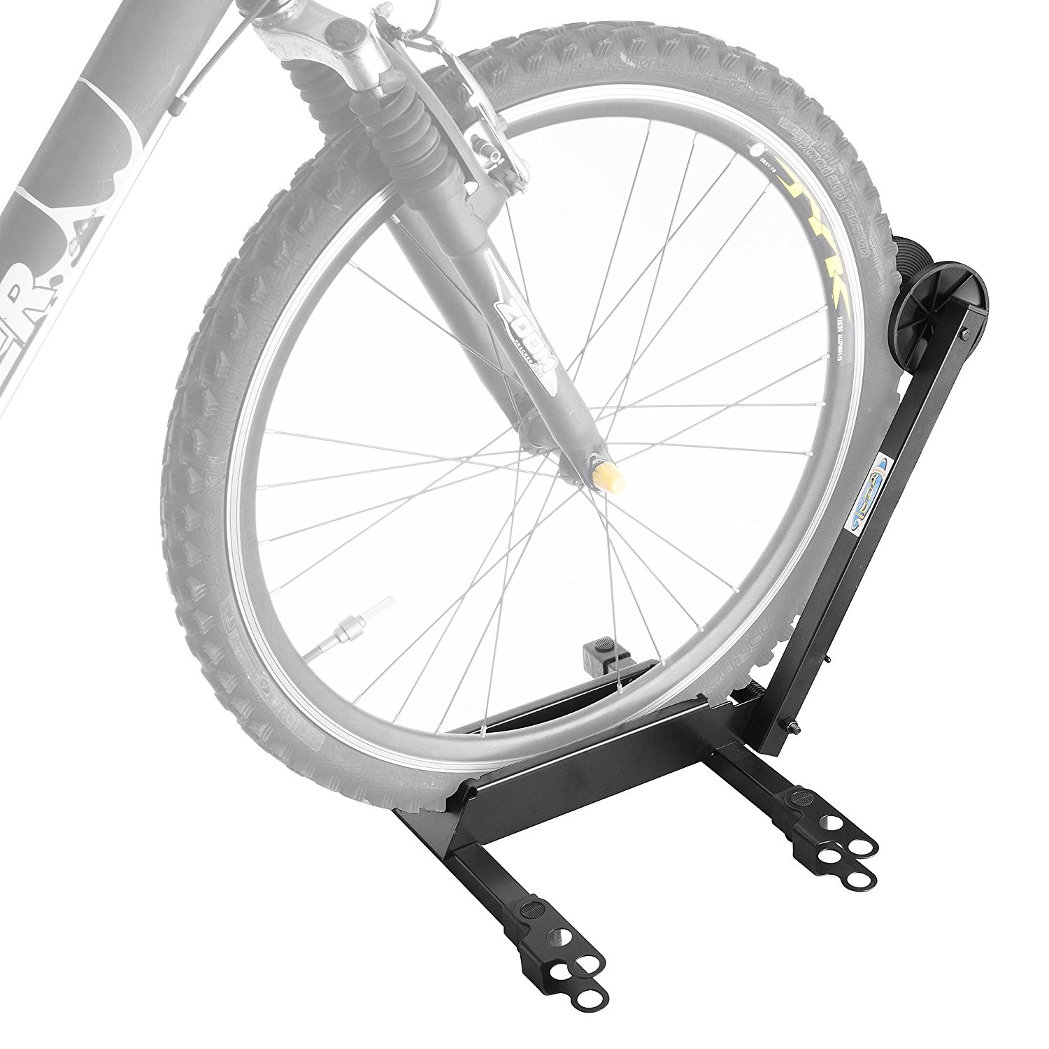 EZConnect Bicycle Storage Floor Stand Foldable Bike Rack, Designed for bikes with 20mm wide tires on 650C & 700C road wheel to 2.4 wide. MTB/BMX.., By RAD Cycle Products