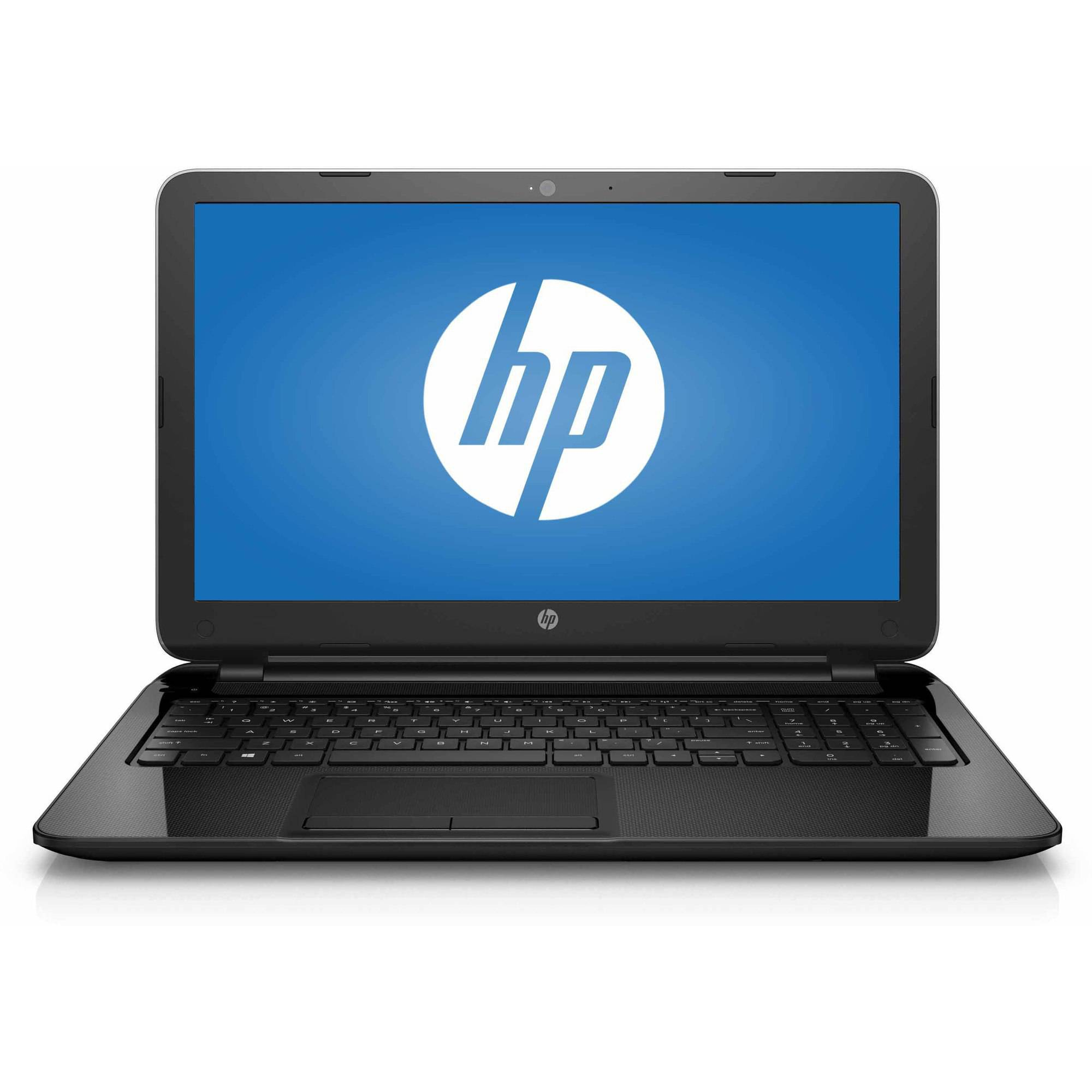 "Refurbished HP Black 15.6"" 15-f233wm Laptop PC with Intel Celeron N3050 Processor, 4GB Memory, 500GB Hard Drive and Windows 10 Home"