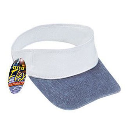 Otto Cap Washed Pigment Dyed Cotton Twill Sun Visors - Hat / Cap for Summer, Sports, Picnic, Casual wear and Reunion