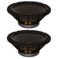"2 Goldwood Sound GW-12PC-8 Heavy Duty 8ohm 12"" Woofers 450 Watts each Replacement Speakers"