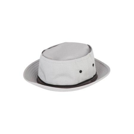 001b9c45df645b Packable Pork Pie Poplin Ribbon Bucket Hat - Walmart.com