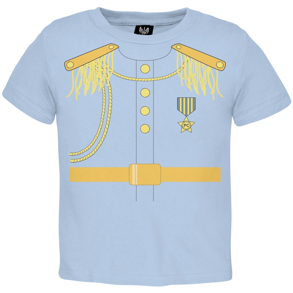Halloween Prince Charming Light Blue Toddler T-Shirt