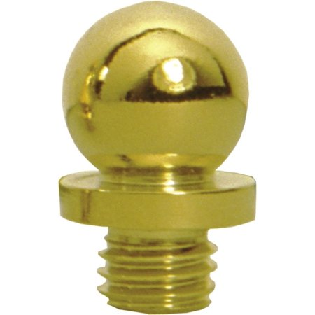 Deltana CBT1 Solid Brass Decorative Ball Tip Hinge Finials