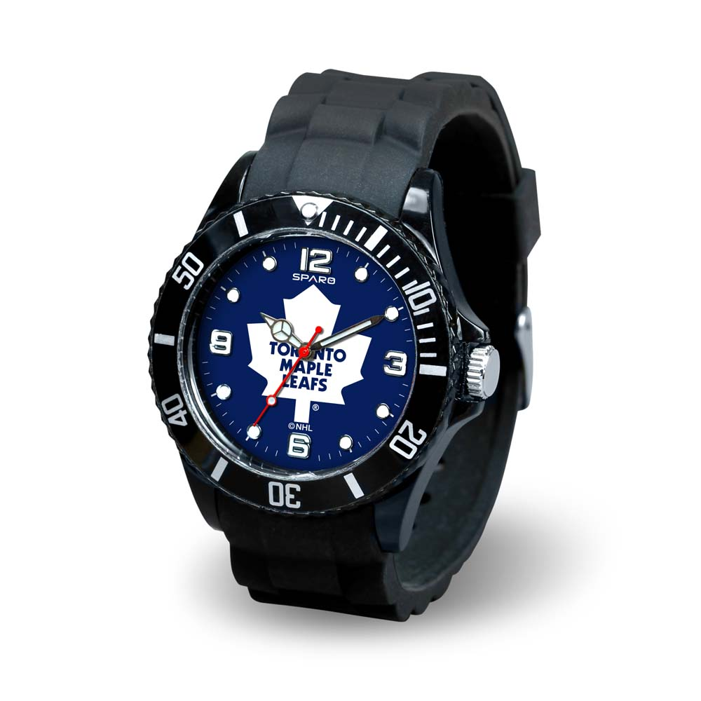 NHL Toronto Maple Leafs Spirit Watch, Black