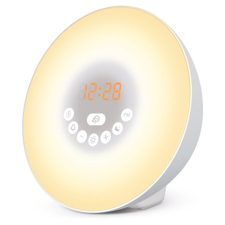 Sunrise Alarm Clock, Smart Wake up Light Sleep Aid Digital Alarm Clock...