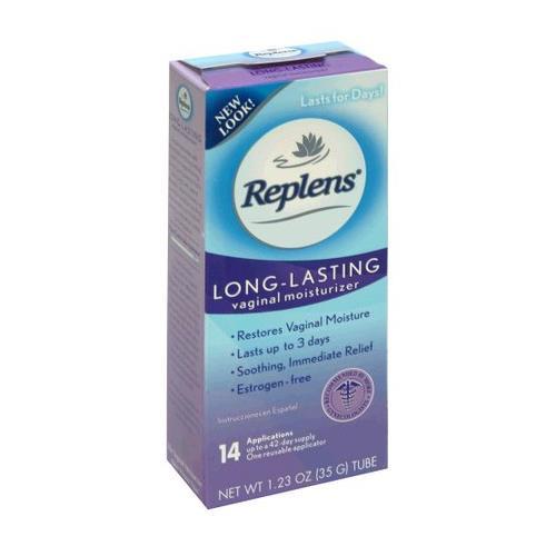 Replens Long Lasting Vaginal Moisturizer 14 Applications - 35g Ea (Pack of 3)