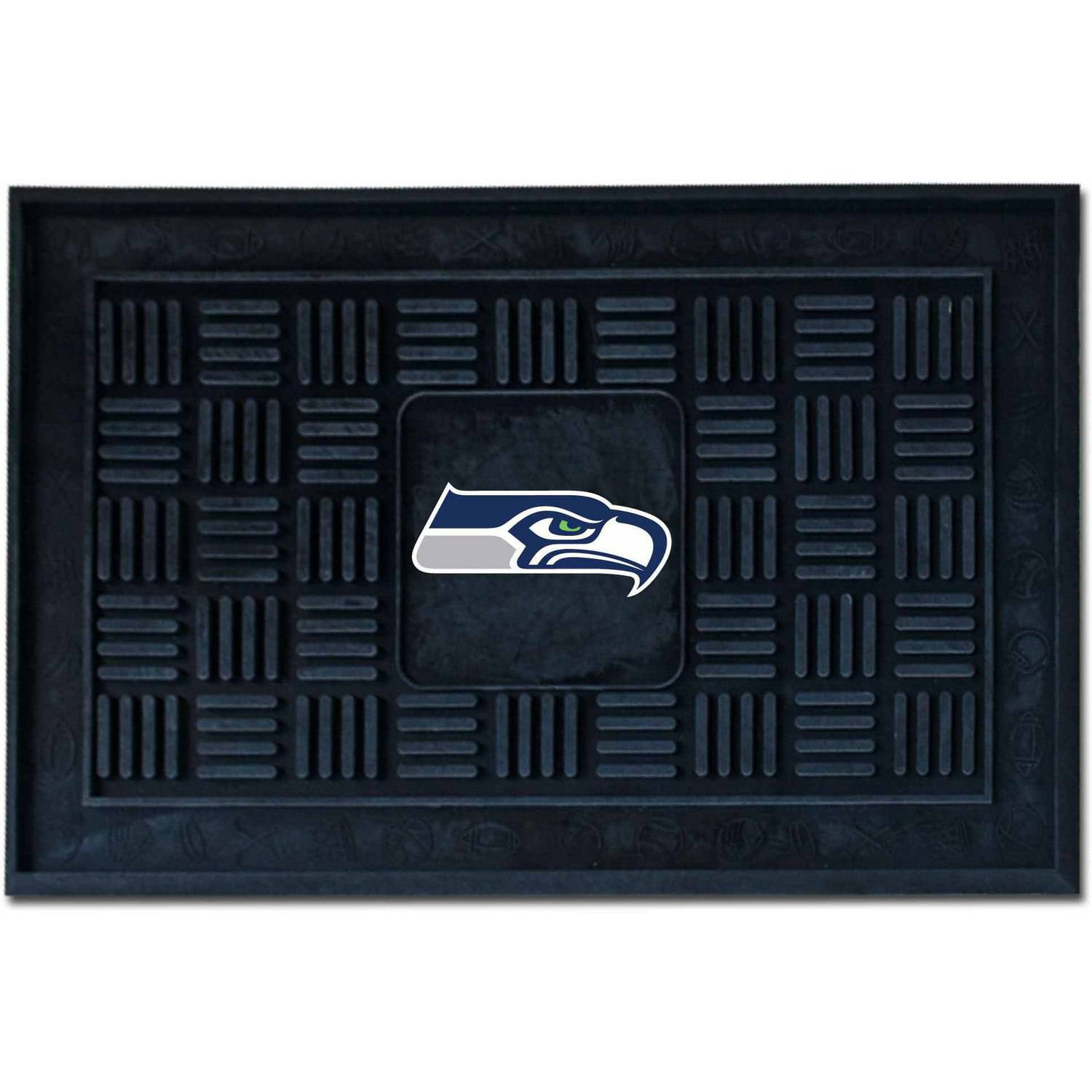 NFL Seattle Seahawks Medallion Door Mat