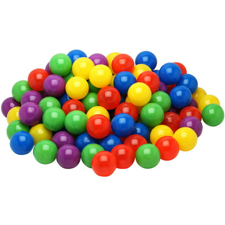 Imperial® Toy Kiddy Up 500 Count Pit Balls In Drawstring Mesh Storage Bag - Bulk Ball Pit Balls