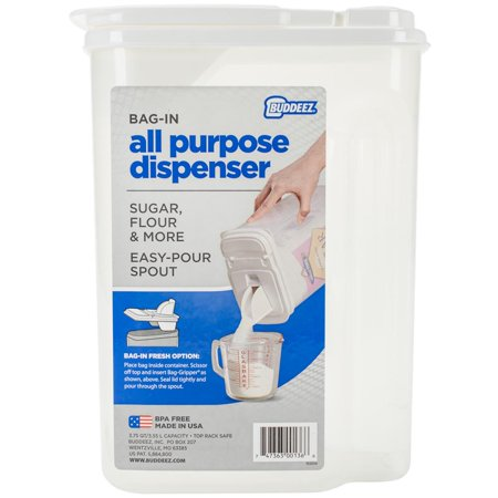 "Buddeez 3.5qt Bag-In All-Purpose Dispenser W/Handle-9.25""x6.25""x4.25"" - image 1 of 2"